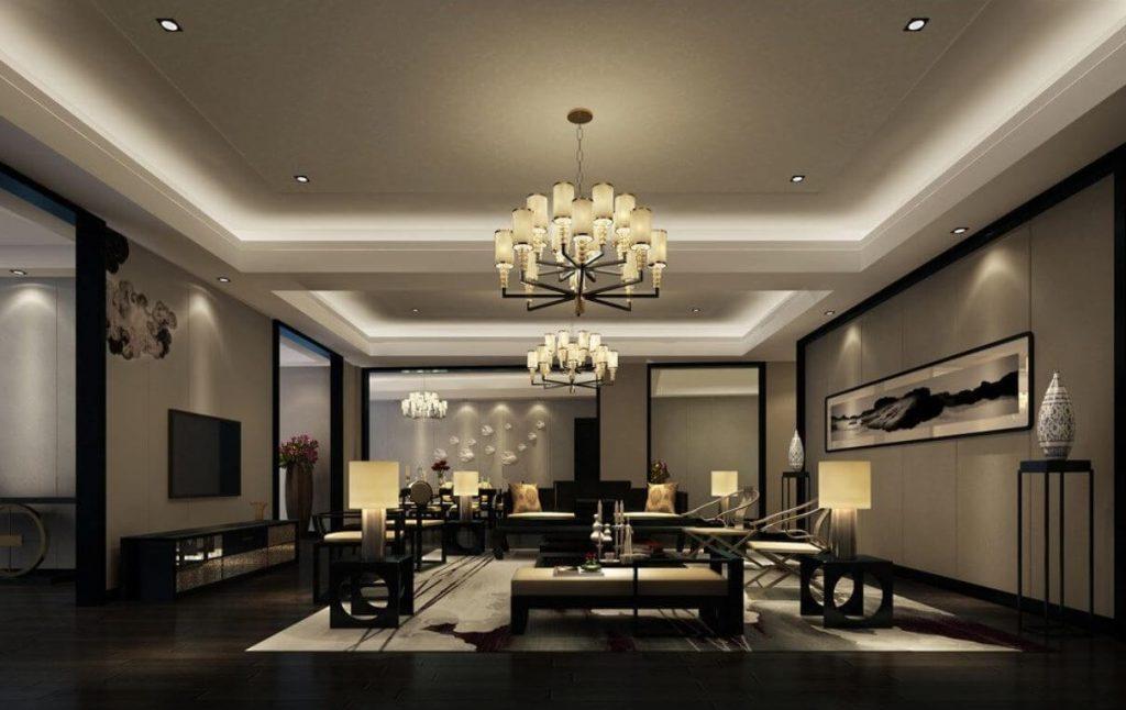 نورپردازی داخلی ساختمان