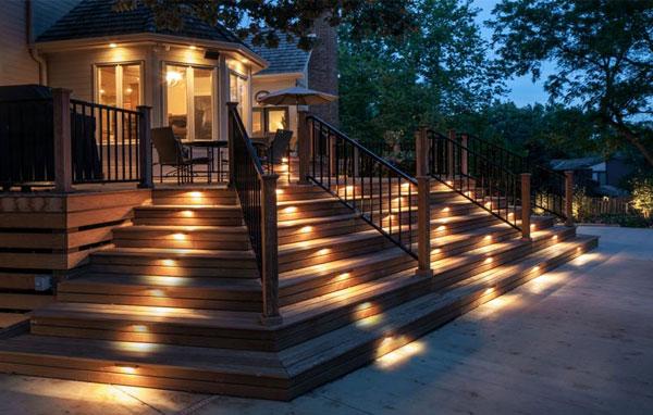 نورپردازی محوطه بیرونی ساختمان   نورپردازی محوطه باغ   نورپردازی حیاط ویلا