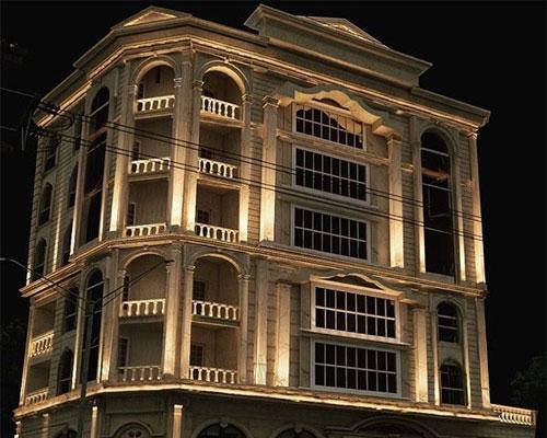 نورپردازی نمای رومی