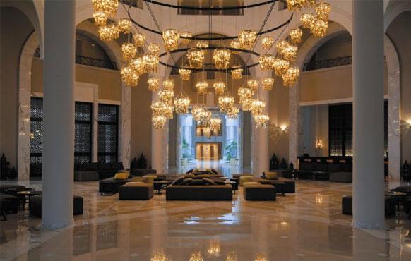 نورپردازی داخلی هتل