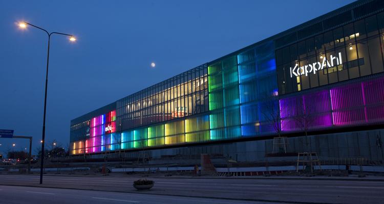 اهمیت نورپردازی نمای تجاری